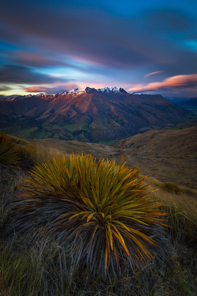 Dawn on the Crown Range by Dietmar Kahles
