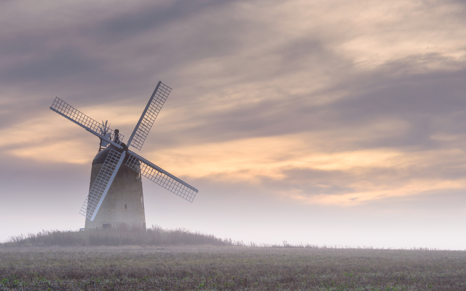 Windmill at Sunrise by Neil ODonnell