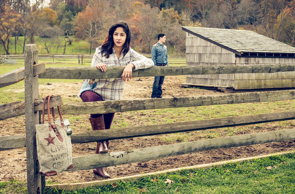 Country Denim 2 by Alfredo Rodriguez