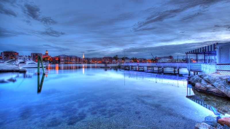 Portsmouth Harbor by Mike Cameron