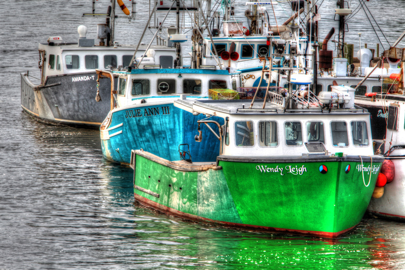 Fishermans Wharf by Mike Cameron