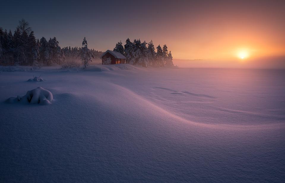 Winter magic by Hans Gunnar Aslaksen