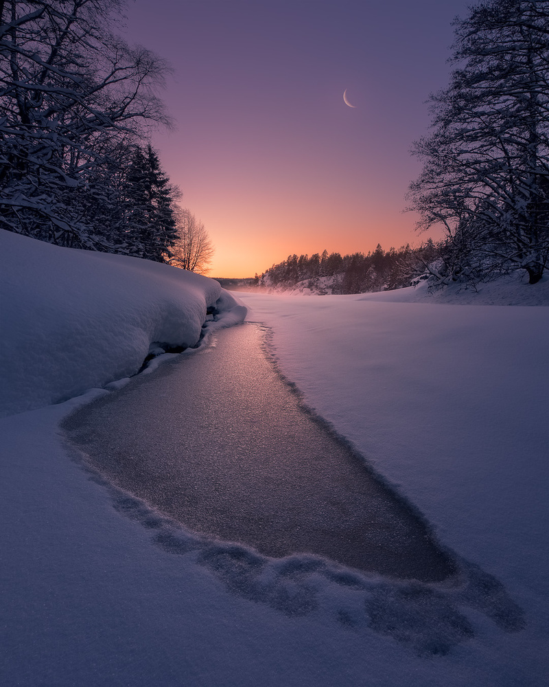 The last light by Hans Gunnar Aslaksen