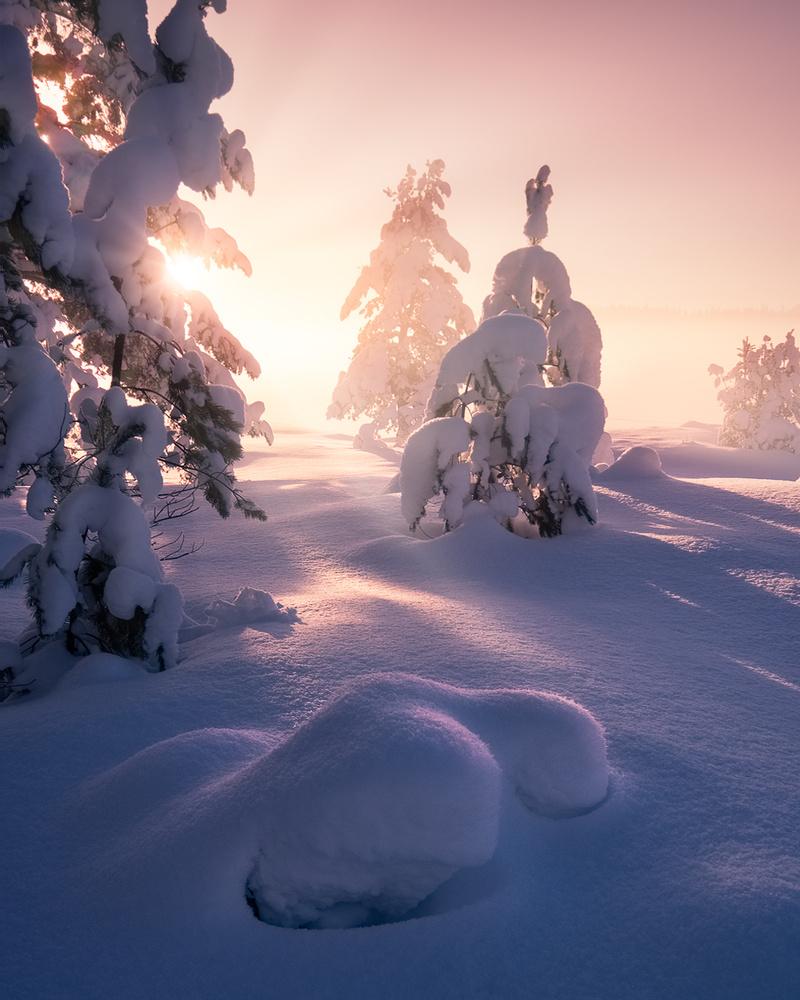 Shapes of winter by Hans Gunnar Aslaksen