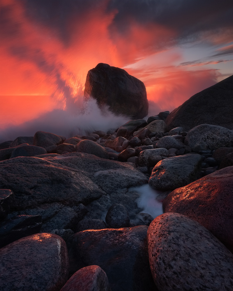 Red Fury by Hans Gunnar Aslaksen