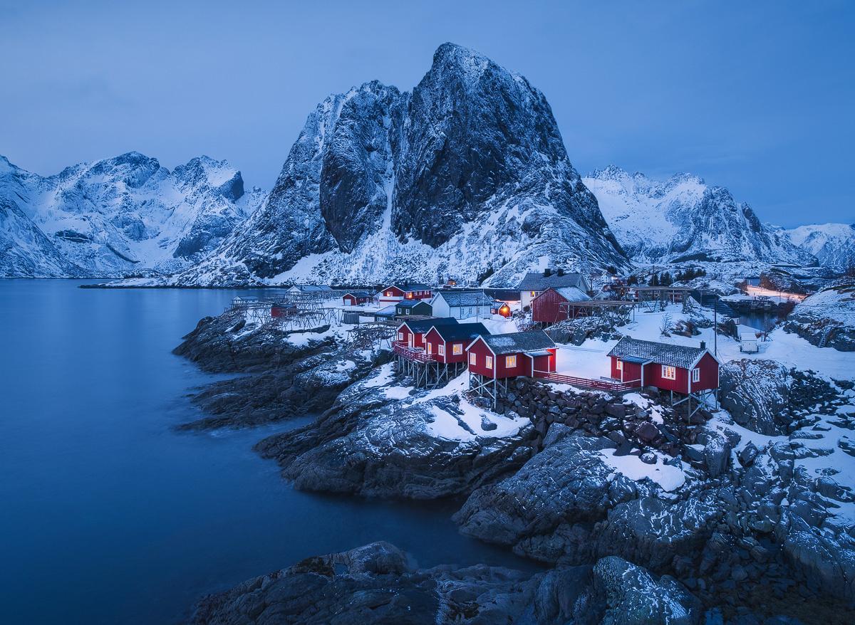 Sleep well Hamnøy by Hans Gunnar Aslaksen