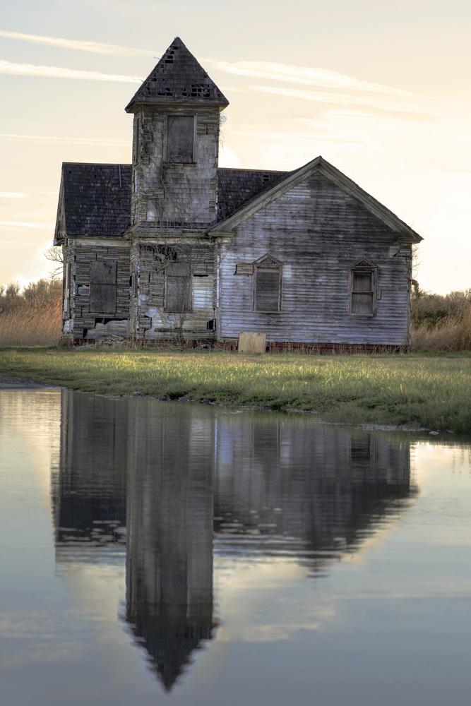 Church Reflecting by Michael B. Schuelke