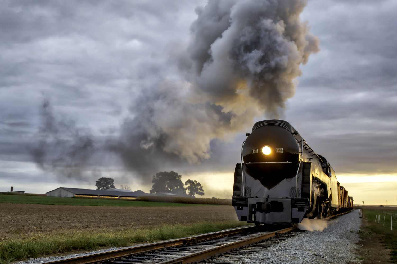 Norfolk and Western 611 Bullet by Michael B. Schuelke