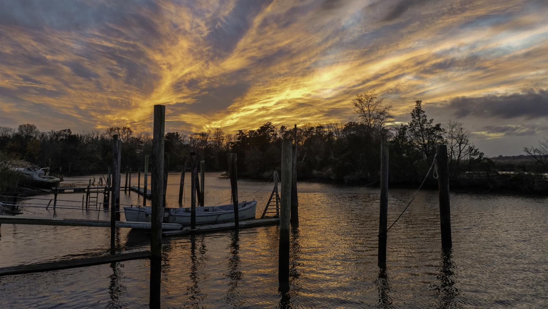 November Sunset by Michael B. Schuelke