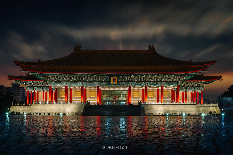Chiang Kai-shek Memorial Hall Taipei, Taiwan by Cris Magsino