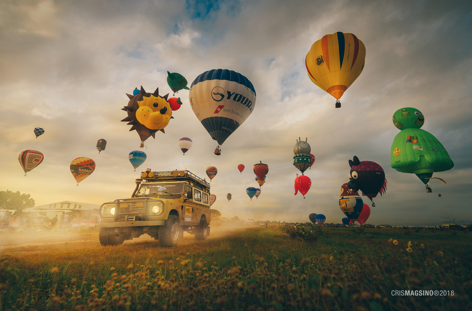 Balloon Chaser by Cris Magsino