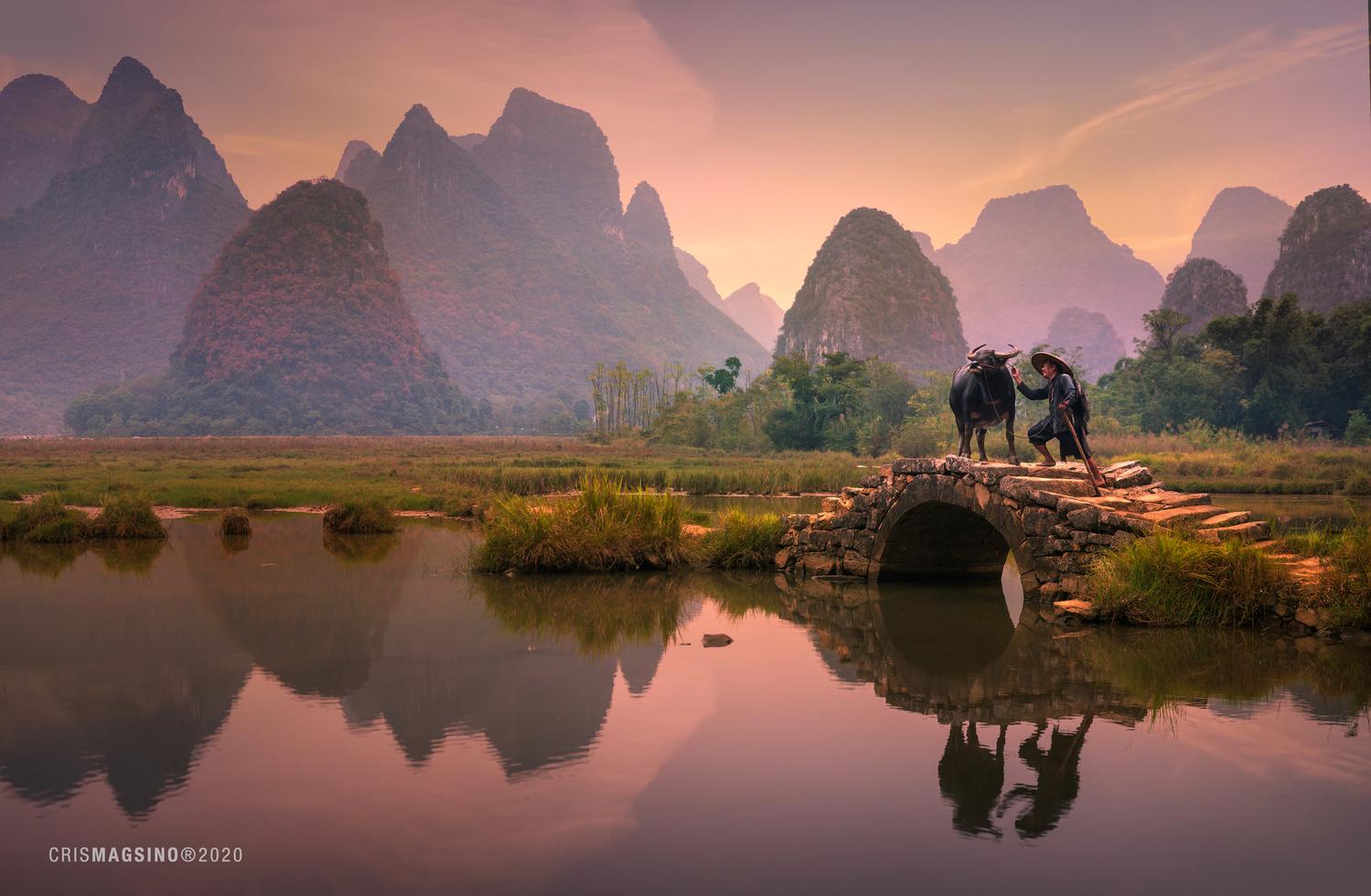 Mornings at Guilin by Cris Magsino