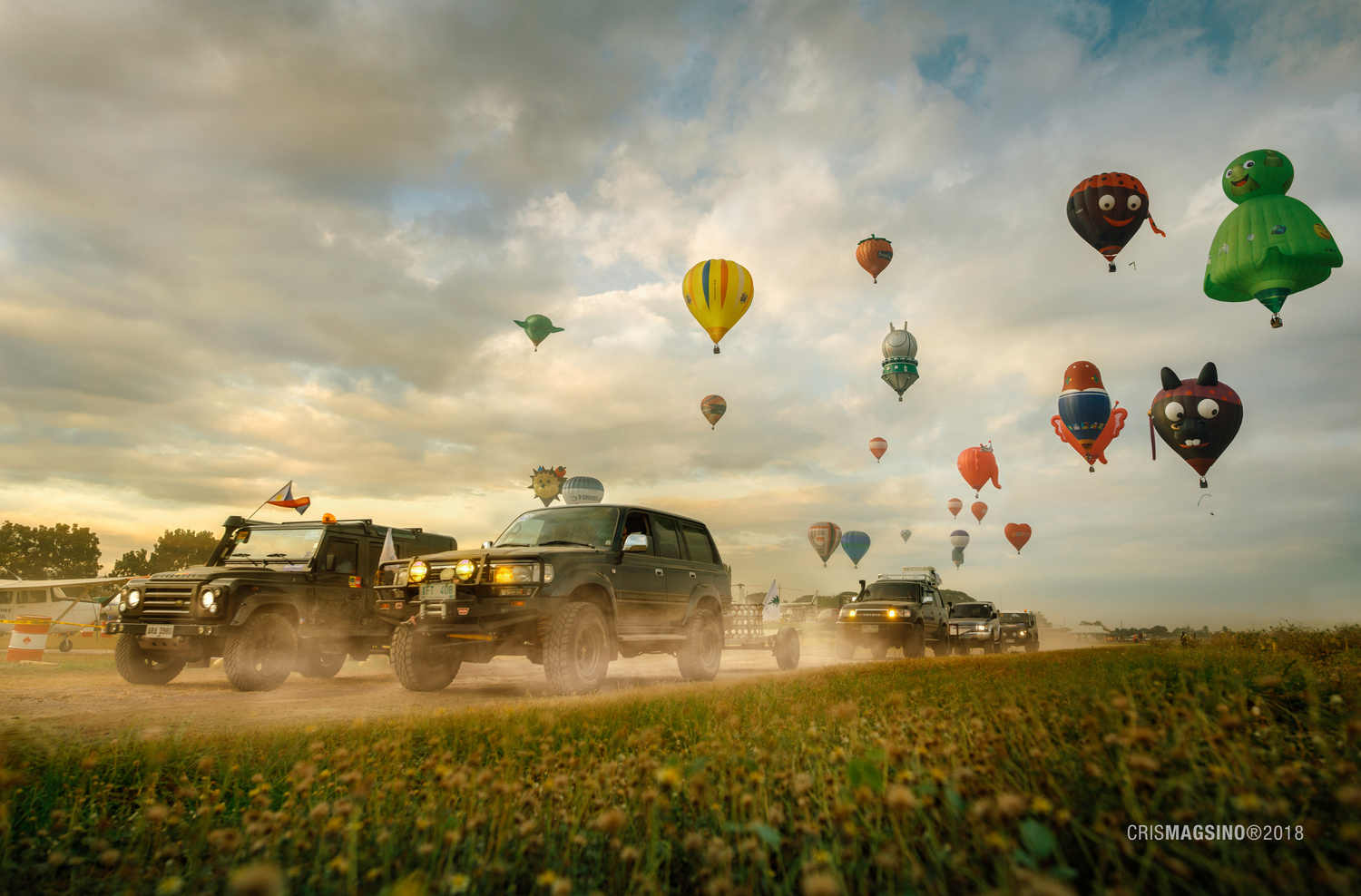 Balloon Chasers by Cris Magsino