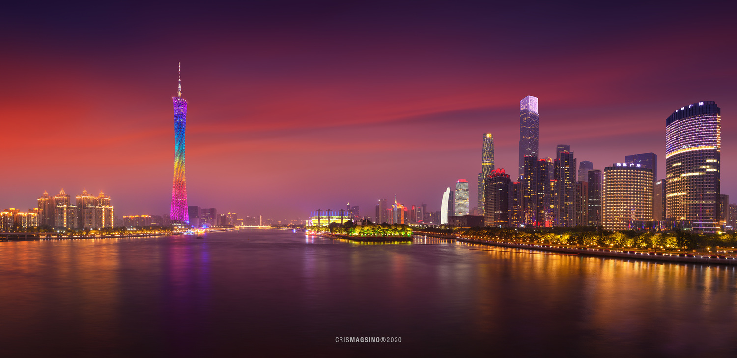 Canton Tower by Cris Magsino