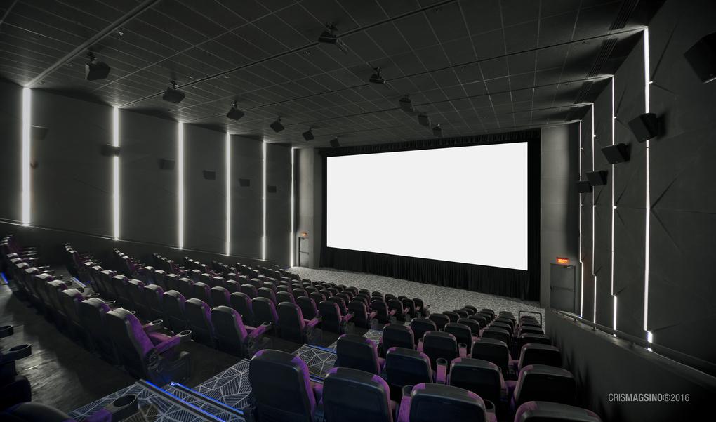 Cinema Interior by Cris Magsino