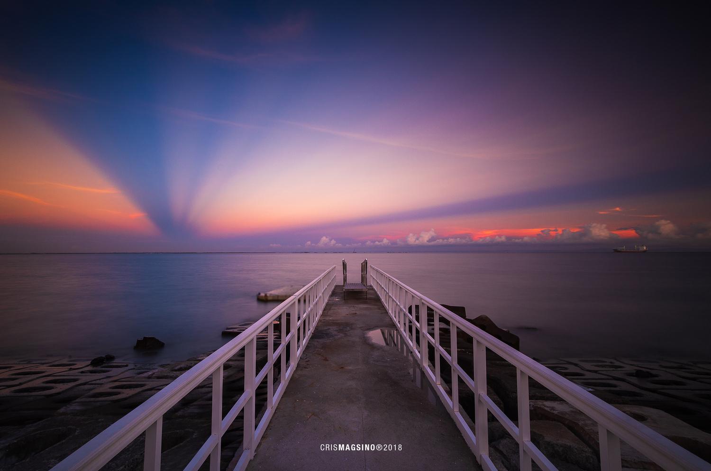 Cebu Dock by Cris Magsino