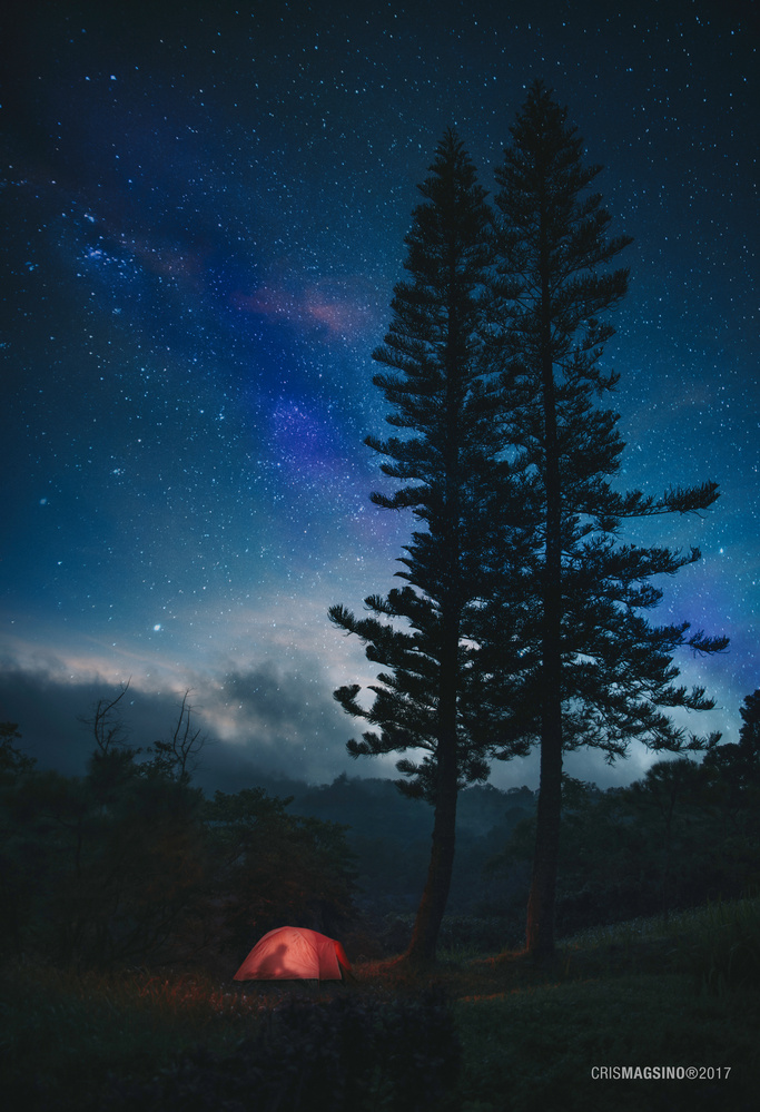 Under the Blanket of Stars by Cris Magsino