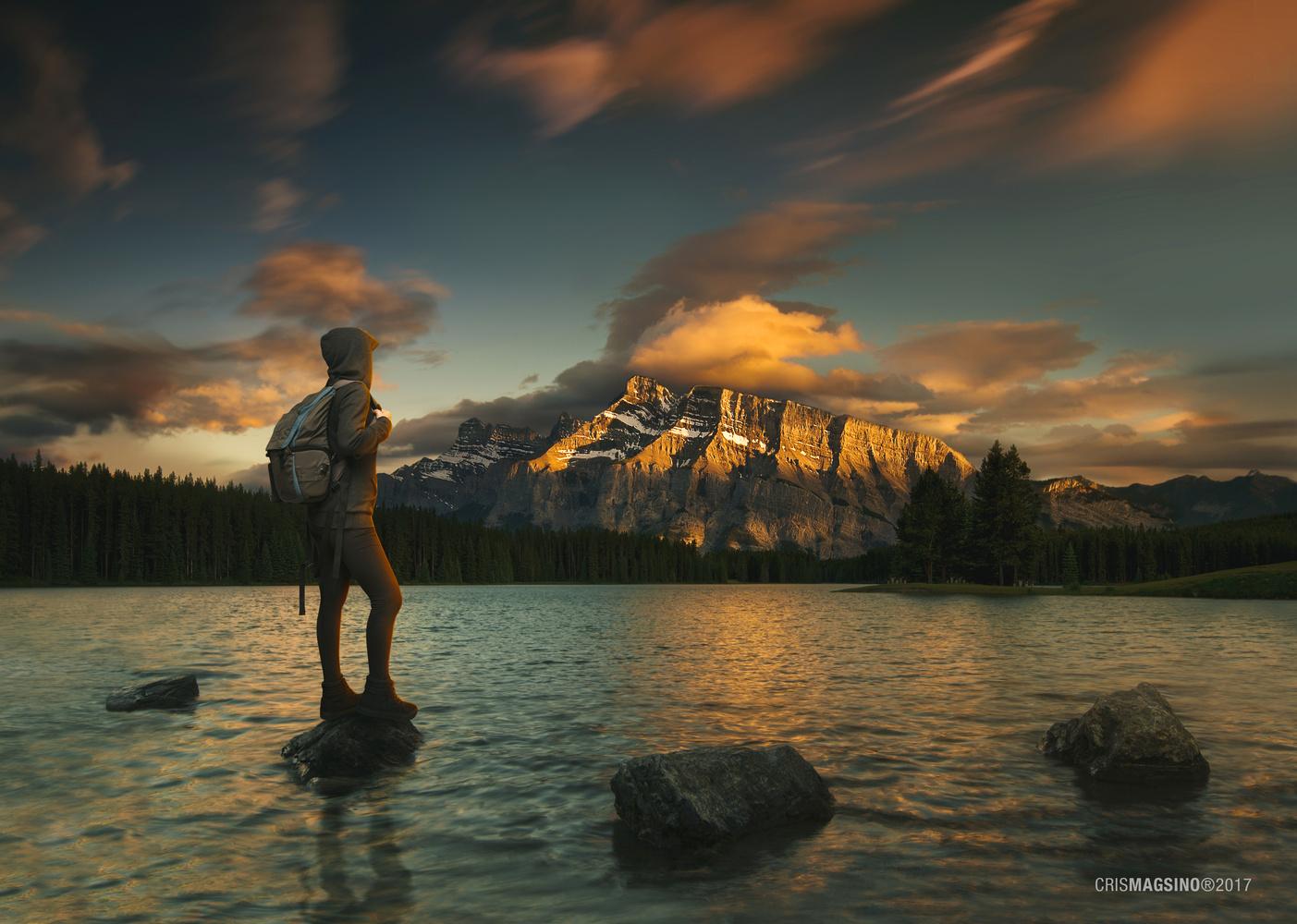 Golden Sunset by Cris Magsino