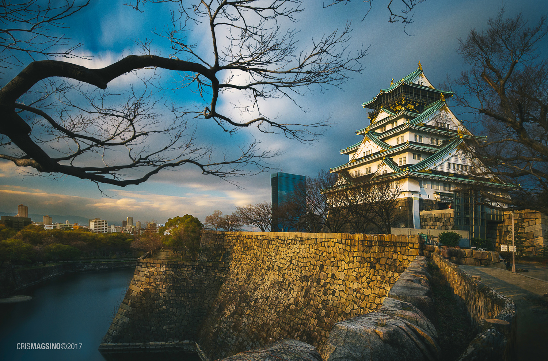 Osaka Castle by Cris Magsino