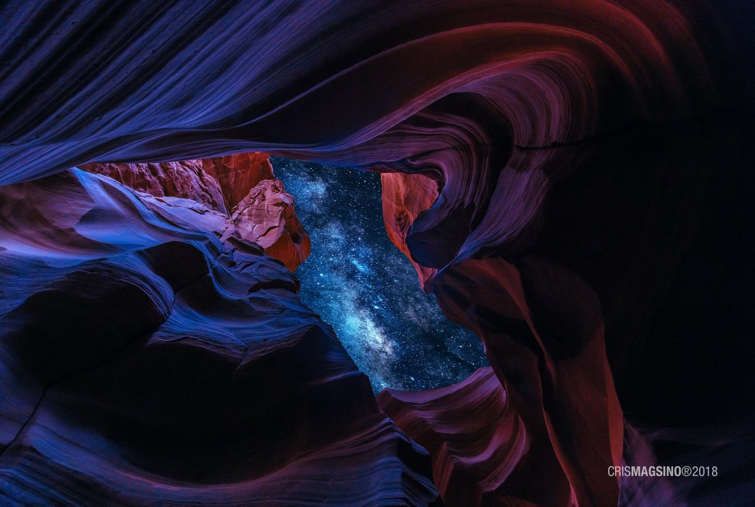 Cosmic Eye by Cris Magsino