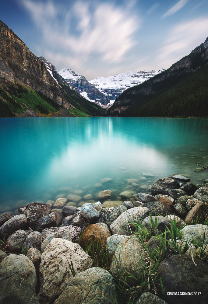 The Turquoise Lake by Cris Magsino