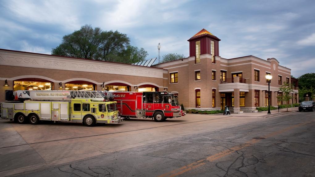 Wauwatosa Fire Station by Michael Mellon