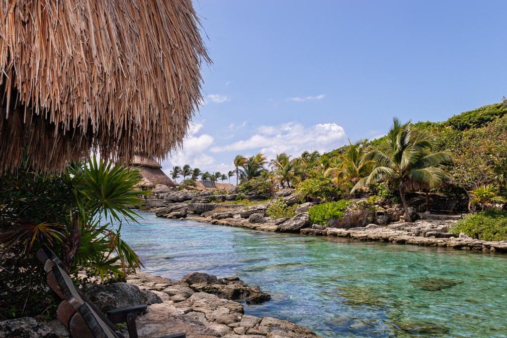 Beach in Mexico by Michael Mellon
