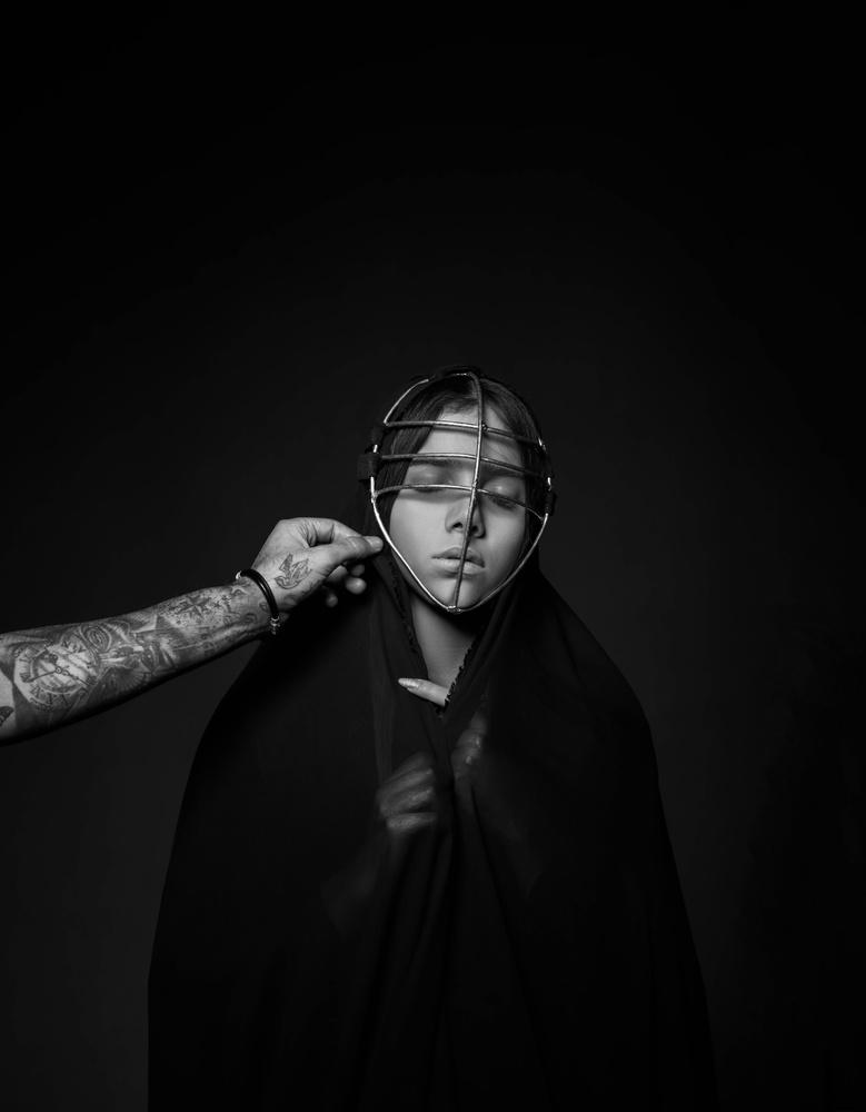 forced veil by Hamze Dashtrazmi