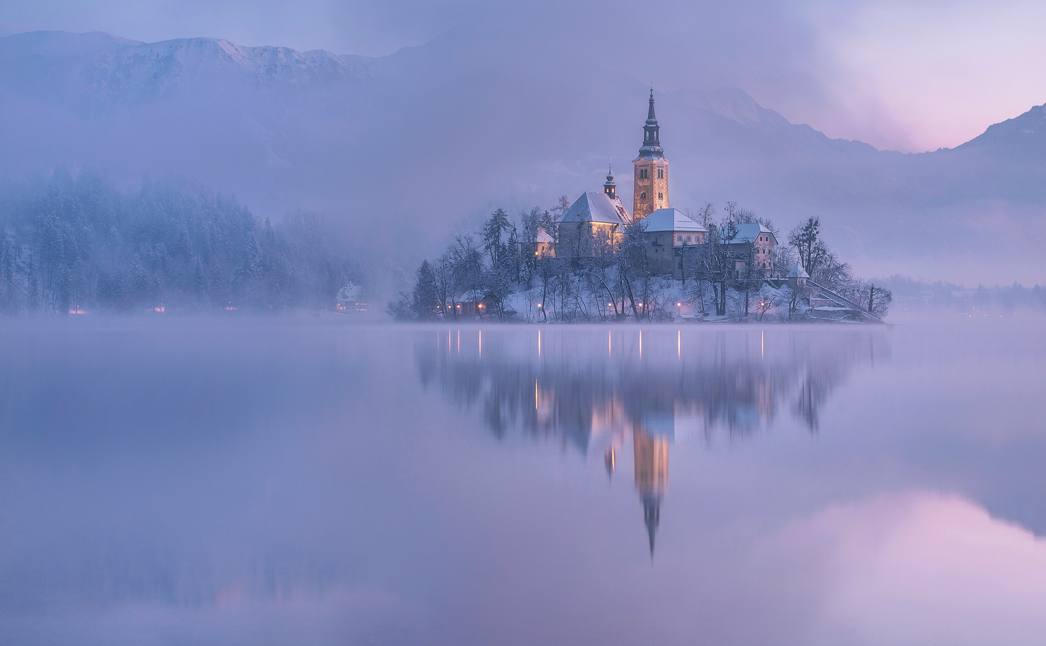 Lake Bled by Ales Krivec