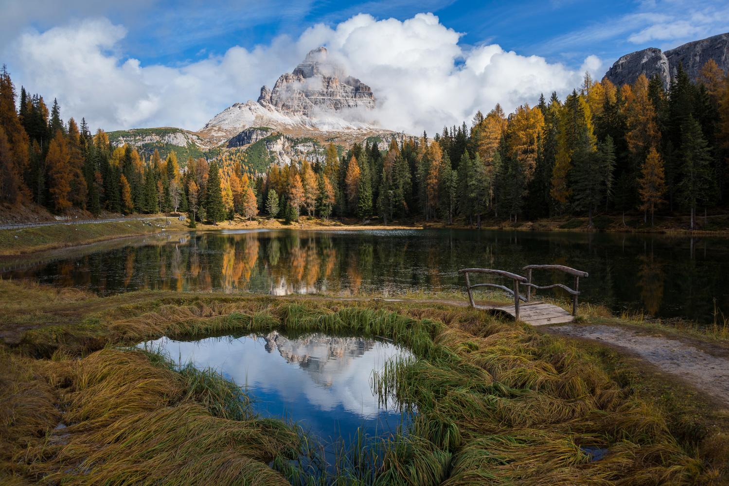 Lake Antorno by Ales Krivec