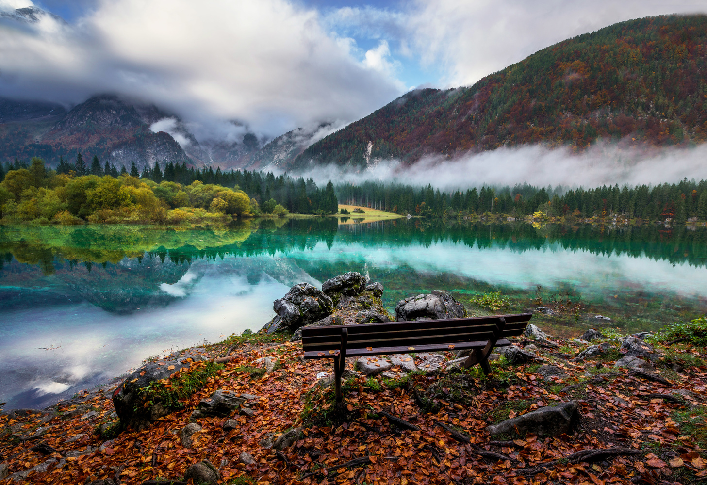 Autumn paradise by Ales Krivec