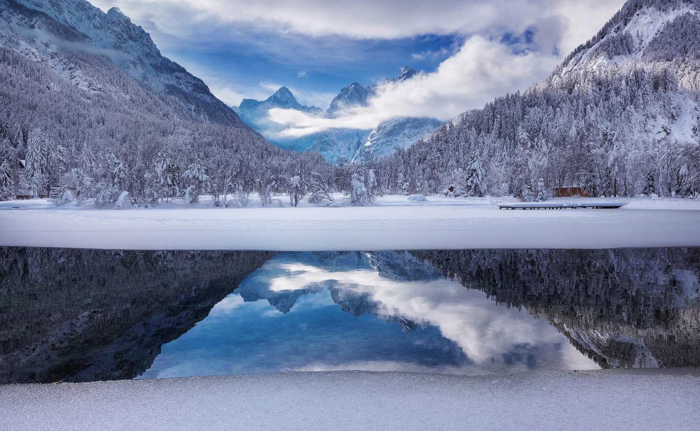 Lake Jasna by Ales Krivec