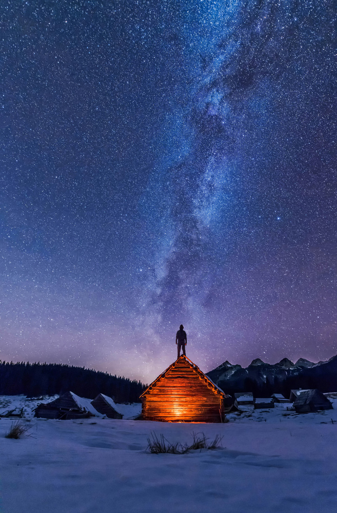 Gazing at the stars by Ales Krivec