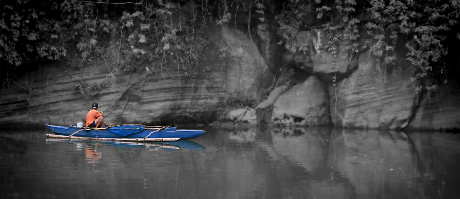 Living in a Riverside  by Rio Ubatay