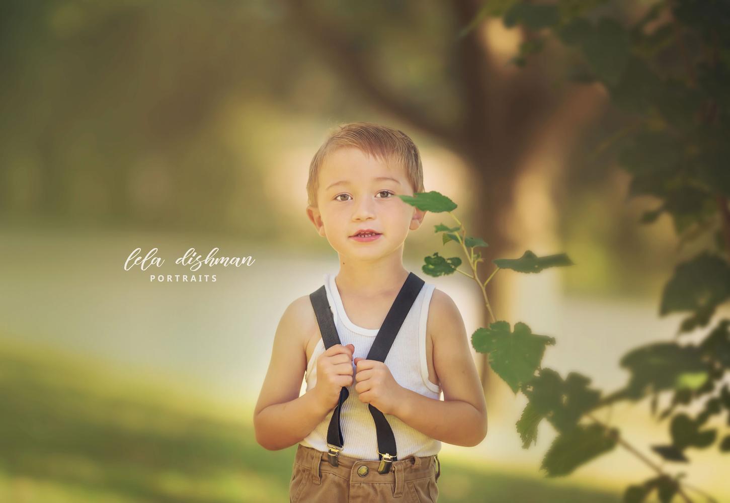 Just a boy by Lela Dishman