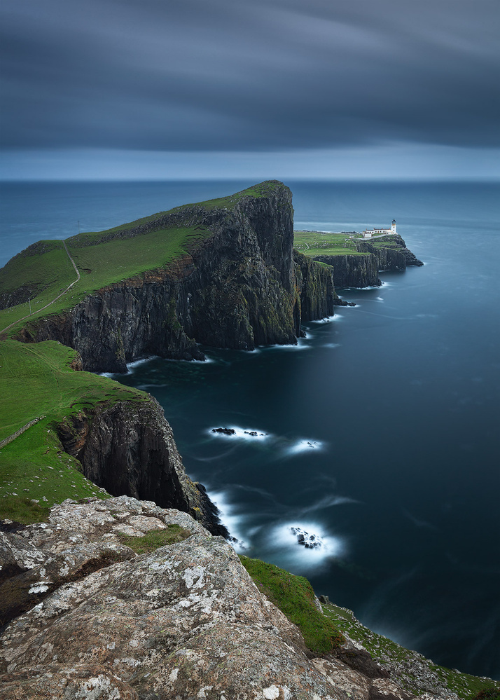 Neist Point Lighthouse by Andrzej Muzaj