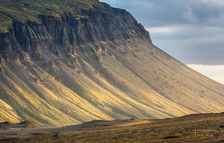 Golden Afternoon, Iceland by Andrzej Muzaj