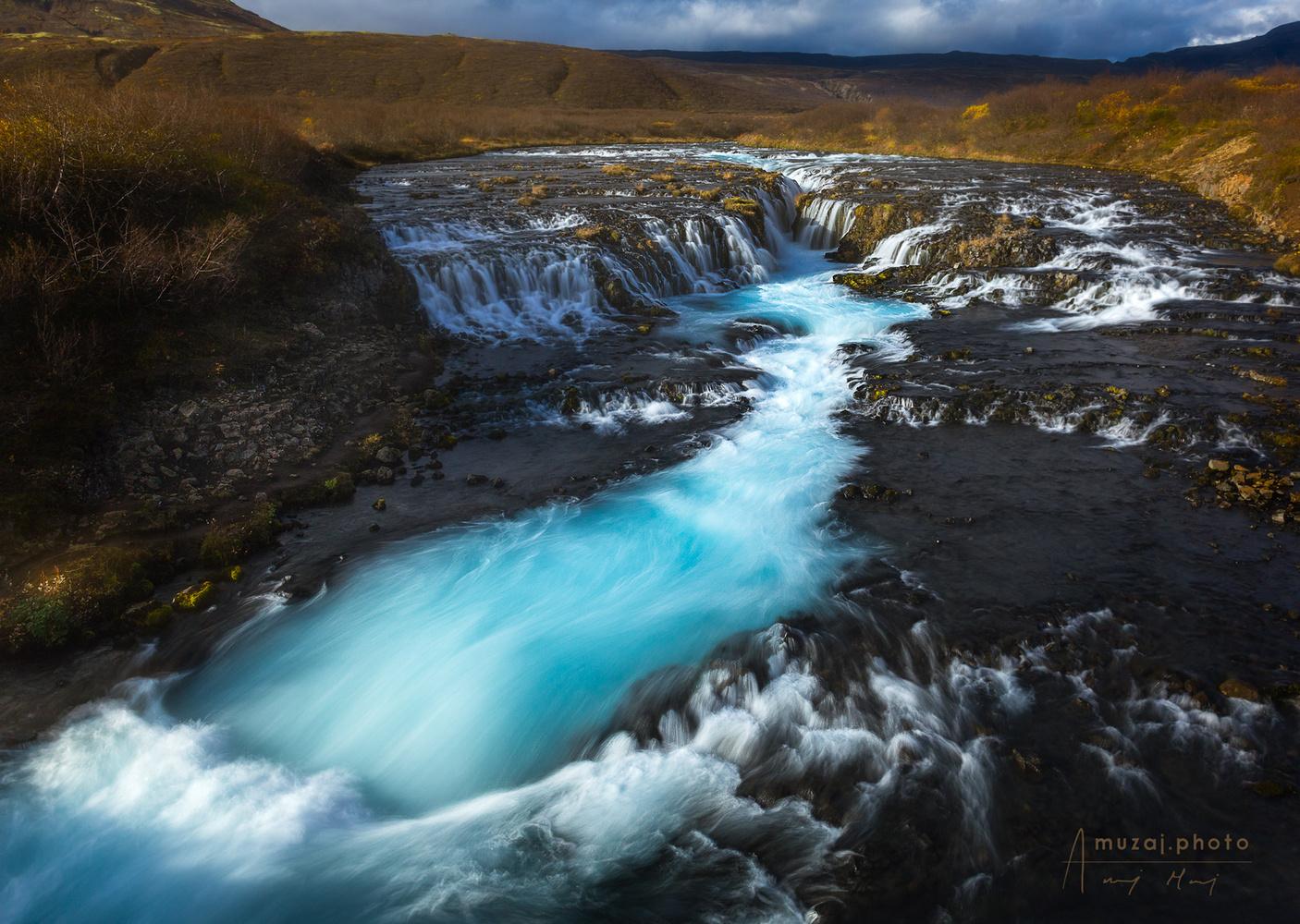 Bruarfoss, Iceland by Andrzej Muzaj