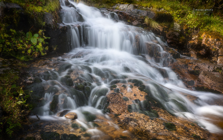Labský vodopád, Czech Republic by Andrzej Muzaj