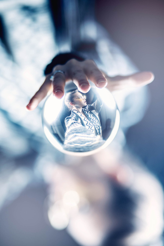 Using the Lensball in a New Way  by Brendan Mariani