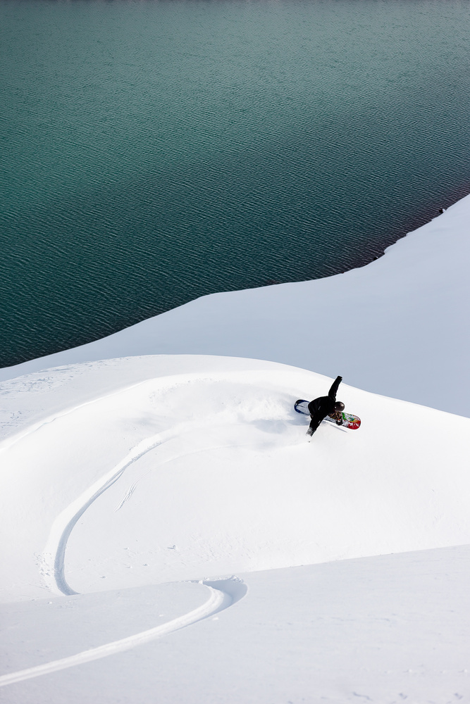 Oregon Splitboarder by Colton Jacobs