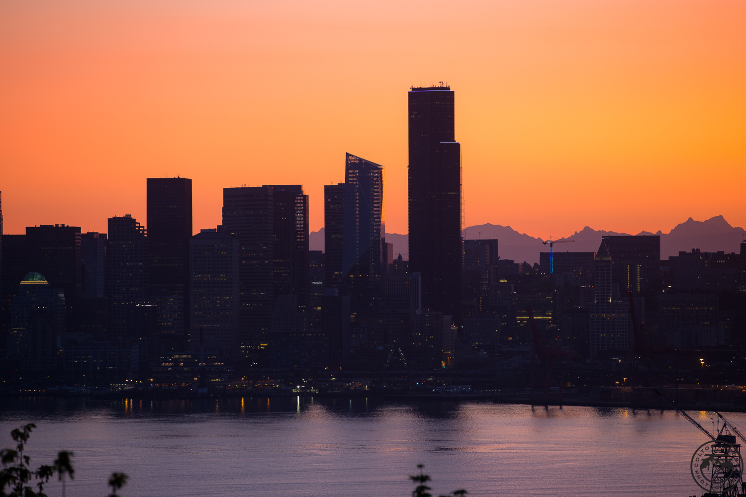 Seattle Sunrise by Colton Jacobs