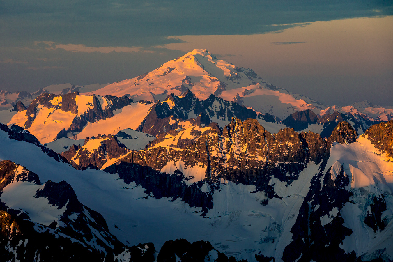 Glaciers and Peaks by Colton Jacobs