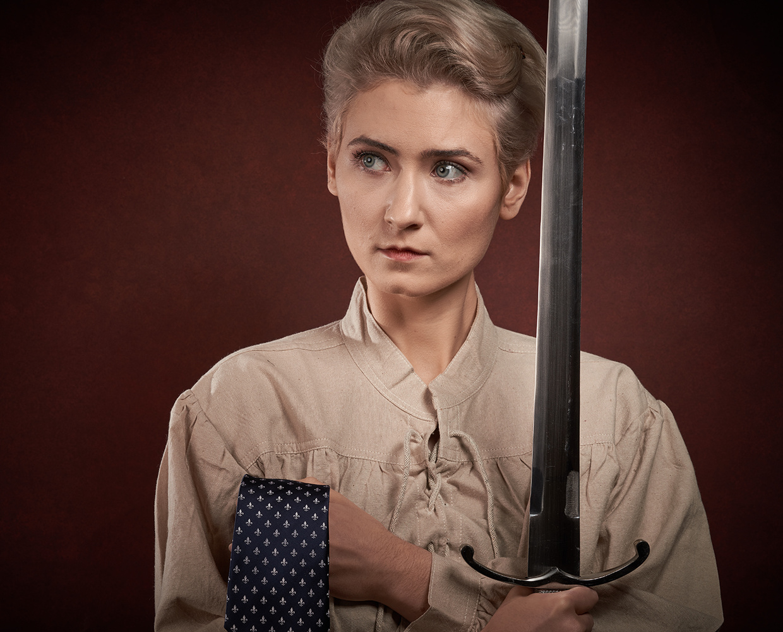 Jeanne d'Arc by thomas Palmer