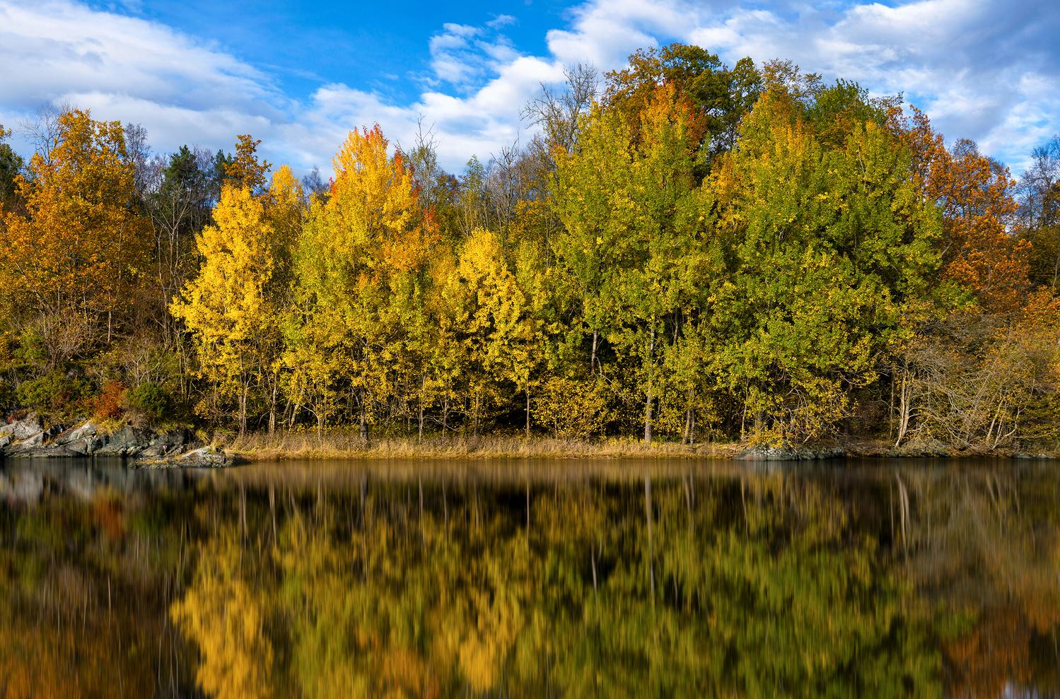 Autumn Reflections by Eirik Sørstrømmen