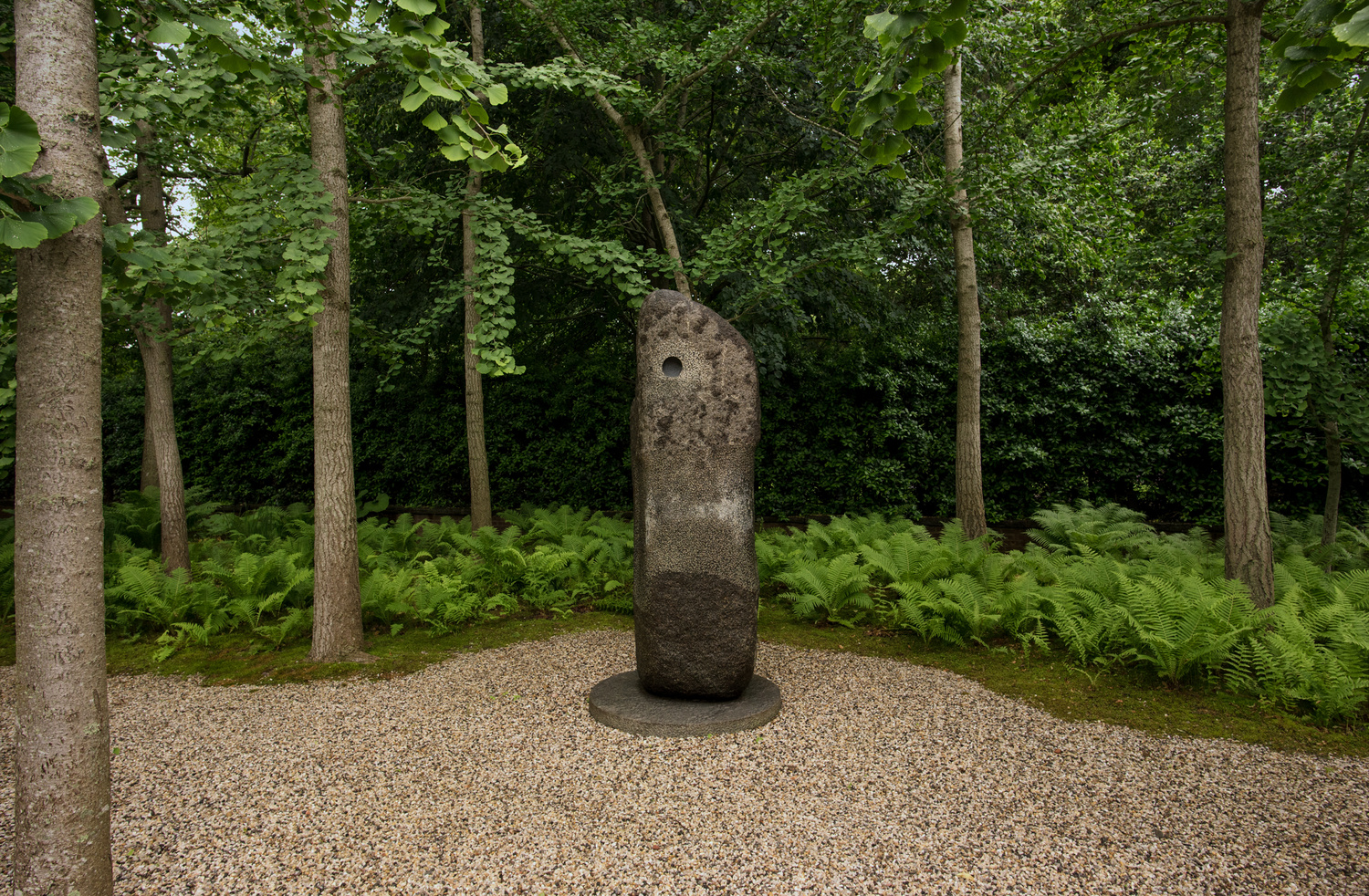 Noguchi Sculpture by Graham Hebel