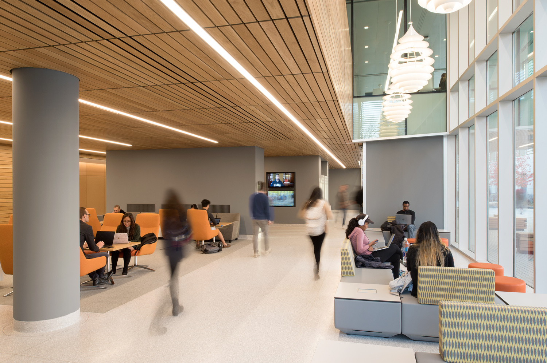 Korman Center, Lower Level by Graham Hebel