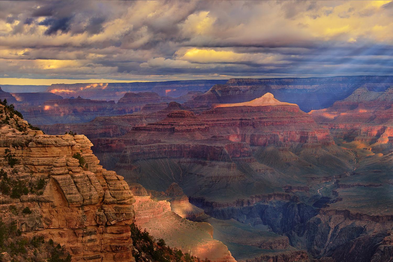 Morning Spotlight by Jim Haas