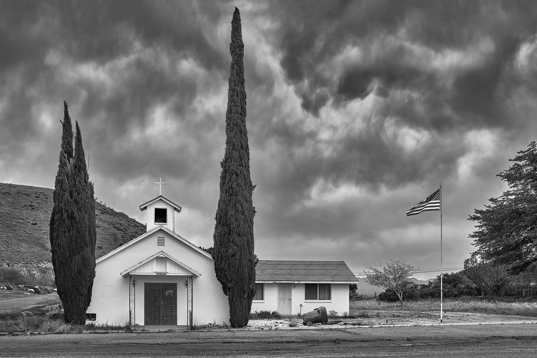 This Old Church -Yarnell, AZ. by Jim Haas