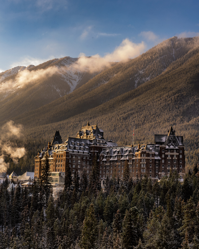 Fairmont Banff Springs by David Penner